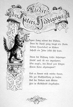 Lieder des Katers Hiddigeigei